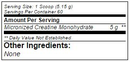 BSN-Creatine-DNA-nutritional-label