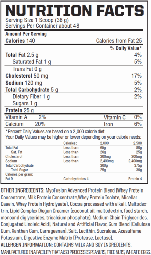 Gaspari-Nutrition-Myofusion-nutrition-label