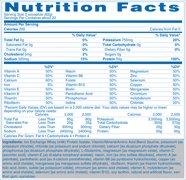 Natures-Best-Zero-Carb-Isopure-nutrition-label