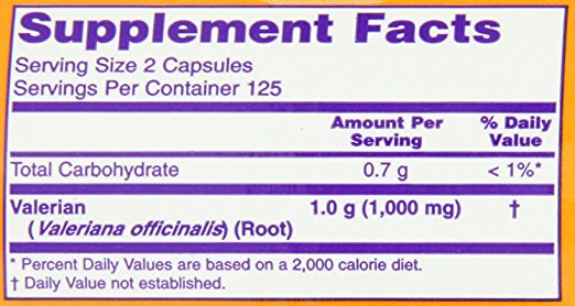 now-foods-valerian-root-500mg-ingredients