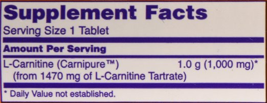now-foods-l-carnitine-supplement-facts