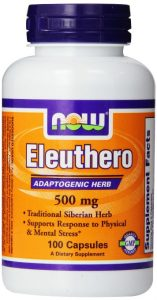Now Foods Eleuthero 500mg