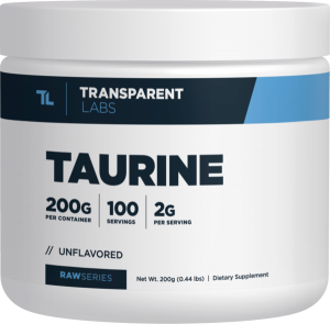 RAW Series Taurine by Transparent Labs